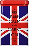 Keep Calm And Carry On Tea, Union Jack Tin, 40 Bags