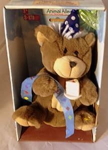 """6"""" Happy Birthday Bear Singing Plush"""