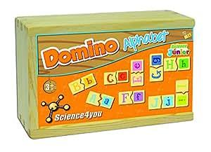 Amazon.com: DOMINO - ALFABETO: Toys & Games