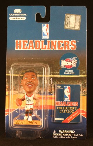1997-1998 Corinthian Headliners Hakeem Olajuwon; NBA Houston Rockets