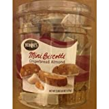 Nonnis Mini Biscotti Gingerbread Almond 2 LBS 5.8 OZ