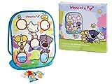 AK Deportes 0751001 - Woezel y Pip granos bolsa de lanzar, clasificar, apilar juguetes del enchufe