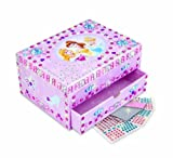 The Orb Factory Sticky Mosaics Disney Princess Jewellery Box