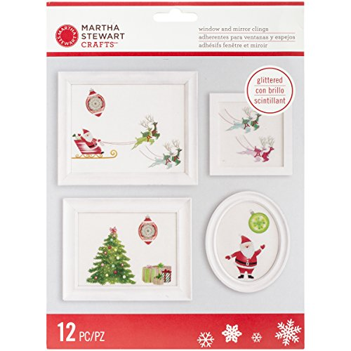 Martha Stewart Crafts Merry and Bright Window Clings - 1