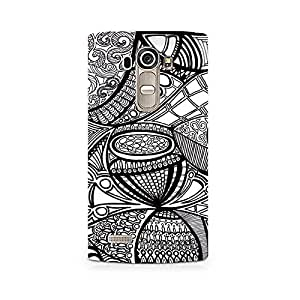 Ebby Doodle Abstract Premium Printed Case For LG G4