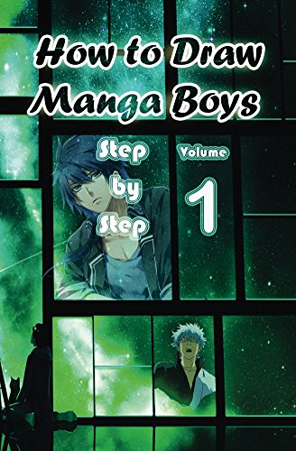 Anime Characters Speaking English : How to draw manga boys step by volume learn