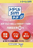 トラベルSIMデータ海外渡航向けSIMカード月額0円