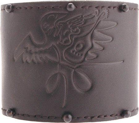 Rock Band Men's Roadie Wrist Cuff Jewelry,Black,L US