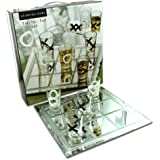 bulk buys Drinking Tic Tac Toe Game (Case of 1) (Color: Silver)