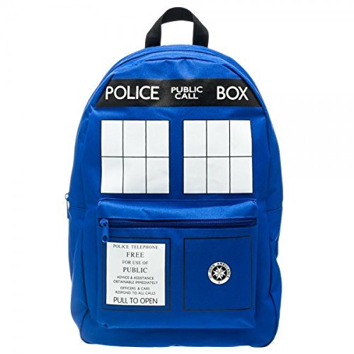 Dr. Who Tardis Backpack