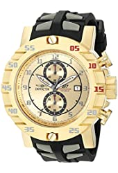 Invicta Men's 19713SYB S1 Rally Analog Display Japanese Quartz Two Tone Watch