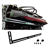 EZDIY-FAB Graphics Cards (Graphics Card Brace Support. A Video Card Holder, GPU VGA brace, for custom Desktop Pc Gaming. a GPU stand case mod- 3mm Aluminum Black)
