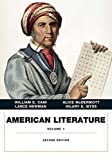 img - for American Literature, Volume I (2nd Edition) by William E. Cain (2014-10-30) book / textbook / text book