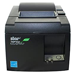Star TSP143 IIU GRY ITU TSP100 ECO Receipt Printer, USB, Thermal, OEM Packaging