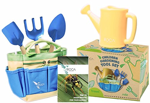 Gardening Tools for Kids and Beach Toys by