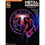 "Metal Rhythm Guitar Volume 1 Tab Book/Cd (Troy Stetina)von ""Various"""