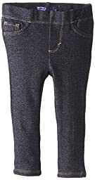 Levi's Baby Girls' Essential Knit Legging, Indigo, 24 Months