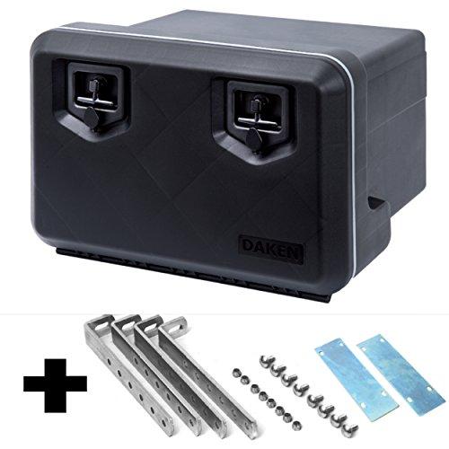 LKW-Staukasten-aus-Kunststoff-600x400x500-mm-775-ltr-inkl-Vertikale-Halter-Werkzeugkasten-Staubox-Deichselkasten-Deichselbox