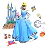 Wallables 3D Wall Décor Decals - Cinderella