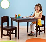 KidKraft Charleston Table and Chair Set, Espresso