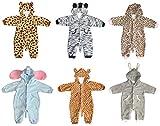 Bomio Baby Fleece Overall, Motiv Katze, Größe 74/80 (6-12 Monate), Frühling/Sommer (one layer)