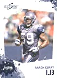 Aaron Curry - Seattle Seahawks - 2010 Score Football Card - NFL Trading Card in Screwdown Case at Amazon.com