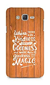 AMEZ where there is kindness there is goodness Back Cover For Samsung Galaxy J7