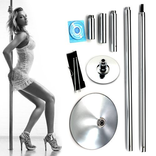X-Dance 45mm Portable Dance Pole Kit Fitness Dancing Exercise by