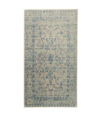 ABC Tappeti Alfombra Bright Barro/Azul 80 x 150 cm
