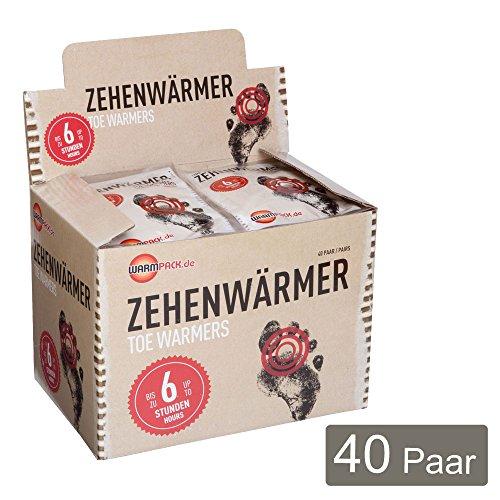 Warmpack Zehenwärmer 40er-Pack