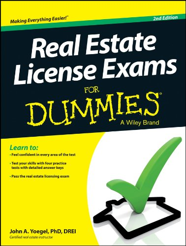 Download Real Estate License Exams For Dummies