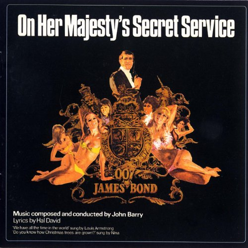 Original album cover of On Her Majesty's Secret Service by James Bond - OST