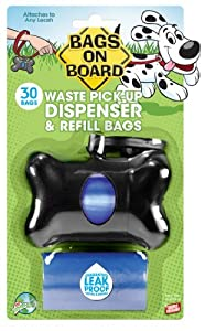 10 X Bags On Board Bone Dispenser, Black from The Bramton Company