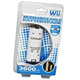 3600mAh Rechargeable Battery Pack for Nintendo Wii Remote Controller