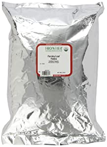Frontier Parsley Leaf Flakes Certified Organic, 16 Ounce Bag