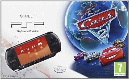 PSP Consola E 1004 Negra + Cars 2
