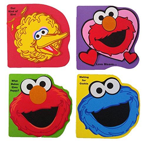 Sesame Street Elmo Popup Books Set of 3 Books