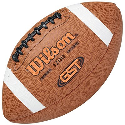Wilson Gst Official Composite Pallone da Football Americano, Marrone, Taglia Unica