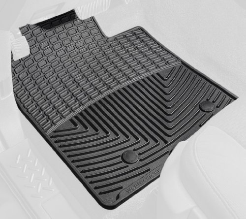 WeatherTech Rubber Floor Mat for Select Volvo Models - Set of 2 (Black) (Weathertech Floor Mats Volvo S40 compare prices)