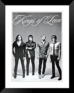 """Kings of Leon Caleb Followill Jared Nathan poster (plaket) approx 34"""" x 24"""" inch ( 87 x 60 cm)"""