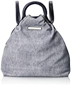 Marc by Marc Jacobs Hangin Round Denim and Leather Backpack