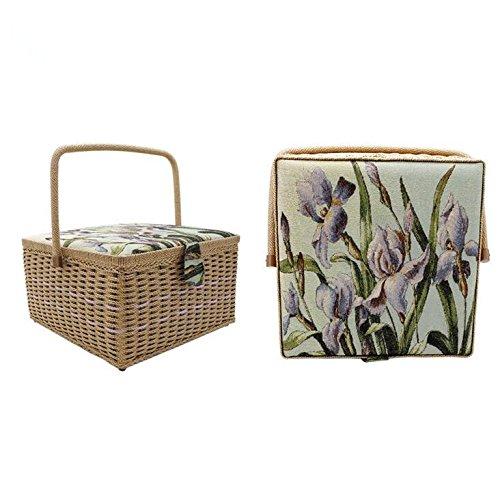 100-hecho-a-mano-vintage-super-gran-capacidad-cesta-de-costura-home-caja-de-almacenamiento-decorativ