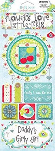 Bo Bunny Press - Alora Collection - Cardstock Stickers - Girly Girl (Bo Bunny Press compare prices)