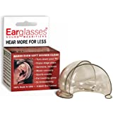 Earglasses® Personal Sound Magnifiers, Set of Two Hearing Amplifiers
