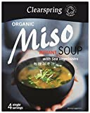 Clearspring Organic Instant Miso Soup 4 x 10g (Pack of 3 - 12 x 10g)