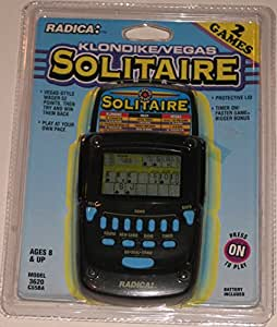 Radica Klondike Solitaire Handheld Game