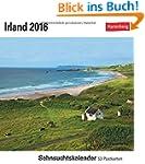 Irland 2016: Sehnsuchtskalender, 53 P...