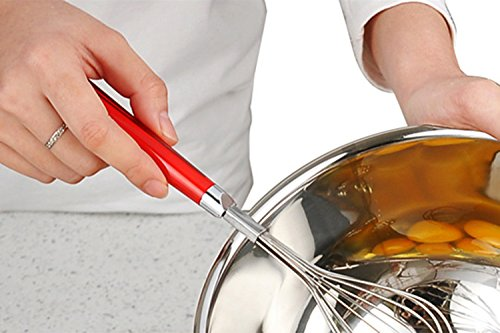 SSGP Whisks, 304 Stainless Steel Wire Whisk, Balloon Whisk, Milk & Egg Beater Blender - Kitchen Utensils for Blending, Whisking, Beating & Stirring - 9.4
