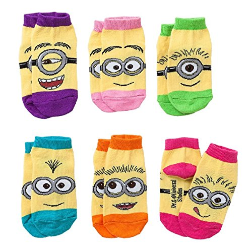 Minions Toddler Socks 2t-4t for Girls