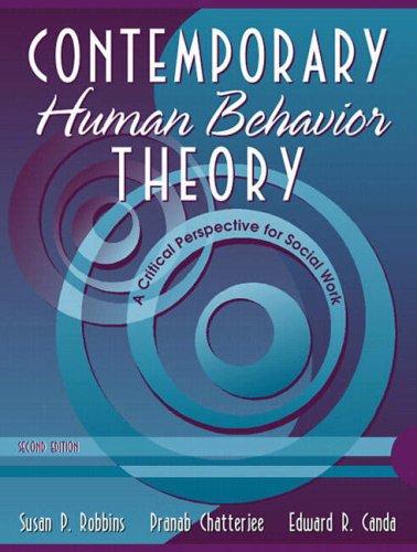 Contemporary Human Behavior Theory: A Critical...